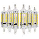 povoljno LED okrugle žarulje-ywxlight® 6pcs r7s 6w 78mm vodio žarulje kukuruza 2835smd toplo bijelo bijelo bijelo bijelo led žarulja vodio reflektor AC 220-240 ak 110-130 v