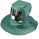 ieftine Pălării, Șepci & Bandane-Καπέλο πεζοπορίας Face Mask Rezistent la Vânt Impermeabil Rezistent la Praf Masca Regional Rezistent la apă&Rezistent la praf Canava Primăvară, toamnă, iarnă, vară pentru Bărbați Pentru femei Nul