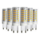 hesapli LED Bi-pin Işıklar-YWXLIGHT® 6pcs 9W 750-850lm G9 LED Bi-pin Işıklar T 76 LED Boncuklar SMD 2835 Kısılabilir Sıcak Beyaz Serin Beyaz Doğal Beyaz 220-240V