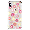 cheap iPhone Cases-Case For Apple iPhone X / iPhone 8 Plus Pattern Back Cover Fruit Soft TPU for iPhone X / iPhone 8 Plus / iPhone 8