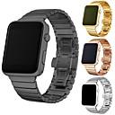 ราคาถูก สายนาฬิกาสำหรับ Apple Watch-สายนาฬิกา สำหรับ Apple Watch Series 4/3/2/1 Apple ผีเสื้อหัวเข็มขัด สแตนเลส สายห้อยข้อมือ