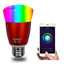 tanie Ubranka i akcesoria dla psów-inteligentna żarówka wifi aplikacja rgbw kontrola ściemniania e27 / e26 żarówka led współpracuje z alexa dom google 16 milionów kolorów ac 85-265v