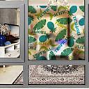 billiga Hundkläder och tillbehör-Fönsterfilm och klistermärken Dekoration Nutida 3D Print pvc Fönsterklistermärke / Matt