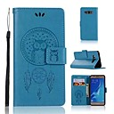 cheap Cases / Covers for Nokia-Case For Samsung Galaxy J7 (2017) / J7(2016) Wallet / Card Holder / Flip Full Body Cases Owl / Dream Catcher Hard PU Leather for J7 (2017) / J7 (2016) / J7