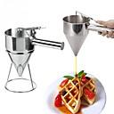 hesapli Meyve ve Sebze Araçları-Mutfak aletleri Paslanmaz Çelik Pişirme Aracı huni Çikolata / Pasta / Cupcake için 1pc