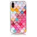 cheap iPhone Cases-Case For Apple iPhone X iPhone 8 Ultra-thin Back Cover Geometric Pattern Soft TPU for iPhone X iPhone 8 Plus iPhone 8 iPhone 7 Plus