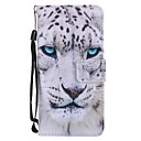 cheap Galaxy S Series Cases / Covers-Case For Samsung Galaxy Galaxy S10 / Galaxy S10 Plus Wallet / Card Holder / with Stand Full Body Cases Animal Hard PU Leather for S9 / S9 Plus / S8 Plus