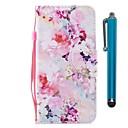preiswerte Kabel & Adapter fürs Handy-Hülle Für Huawei P9 Lite Mini P smart Kreditkartenfächer Geldbeutel mit Halterung Flipbare Hülle Magnetisch Ganzkörper-Gehäuse Blume Hart