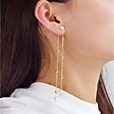 preiswerte Ringe-Tropfen-Ohrringe - Künstliche Perle Modisch Gold Für Alltag Verabredung