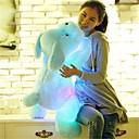 baratos Brinquedos para Cães-Cachorros Animais de Pelúcia Adorável Confortável LED Unisexo Para Meninas Brinquedos Dom 1 pcs