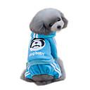 رخيصةأون Sony أغطية / كفرات-قط كلب هوديس حللا ملابس الكلاب حيوان أحمر أزرق زهري قطن كوستيوم من أجل ربيع & الصيف الشتاء رجالي نسائي موضة