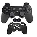 levne PS3 příslušenství-Bezdrátová Sady herních ovladačů Pro Sony PS3 ,  Bluetooth Přenosná Sady herních ovladačů Silikon 1 pcs jednotka