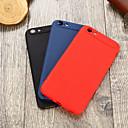 hesapli iPhone Kılıfları-Pouzdro Uyumluluk Apple iPhone 7 Ultra İnce Arka Kapak Solid Yumuşak TPU için iPhone 7