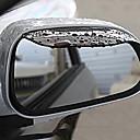 hesapli LED Küre Ampuller-2pcs araba Araba Yağmur Kaşları İş Yapıştır Türü For Dikiz Aynası For Uniwersalny Tüm Modeller Tüm Yıllar
