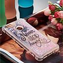 Недорогие Всё для хранения на кухне-Кейс для Назначение Huawei P10 Lite / P smart Защита от удара / Движущаяся жидкость / С узором Кейс на заднюю панель Слова / выражения