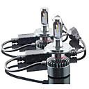 رخيصةأون مصابيح الدراجات النارية-2pcs H13 / 9004 / 9007 سيارة لمبات الضوء 60W Integrated LED 6000lm 4 LED مصباح الرأس For عالمي جميع الموديلات كل السنوات