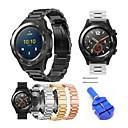 preiswerte LED Lichtstreifen-Uhrenarmband für Huawei Watch 2 Huawei Moderne Schnalle Edelstahl Handschlaufe