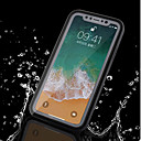お買い得  USB ケーブル-ケース 用途 Apple iPhone X / iPhone 8 Plus 防水 フルボディーケース ソリッド ソフト TPU のために iPhone X / iPhone 8 Plus / iPhone 8