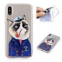 ieftine Machiaj & Îngrijire Unghii-Maska Pentru Apple iPhone X / iPhone 8 Plus / iPhone 8 Transparent / Model Capac Spate Pisica Moale TPU