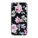 baratos Capinhas para iPhone-Capinha Para Apple iPhone X / iPhone 7 Ultra-Fina / Estampada / Adorável Capa traseira Flor Macia TPU para iPhone X / iPhone 8 Plus / iPhone 8