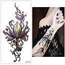 cheap Temporary Tattoos-3 pcs Tattoo Stickers Temporary Tattoos Flower Series Body Arts Wrist