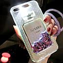 abordables Coques d'iPhone-Coque Pour Apple iPhone 6s / Coque iPhone 5 Liquide / Lampe LED Allumage Auto Coque Brillant Dur TPU pour iPhone 8 Plus / iPhone 8 /