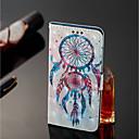 abordables Autres Coques-Coque Pour Motorola MOTO G6 / Moto G6 Plus Portefeuille / Porte Carte / Avec Support Coque Intégrale Attrapeur de rêves Dur faux cuir pour MOTO G6 / Moto G6 Plus