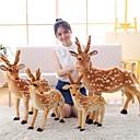 hesapli Peluş Oyuncaklar-Geyik Plyšáci Hayvanlar Sevimli Akrlilik / Pamuk Genç Kız Oyuncaklar Hediye 1 pcs