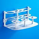 olcso Fürdőszobai kütyük-Fürdőszobai polc / Fogkefetartó Új design Modern Alumínium 1db Padlóra szerelhető