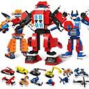 preiswerte LED-Zubehör-Bausteine 1173 pcs Fahrzeuge Roboter Transformierbar Stress und Angst Relief Lindert ADD, ADHD, Angst, Autismus Jungen Mädchen Spielzeuge Geschenk