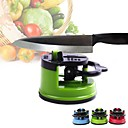 cheap Kitchen Utensils & Gadgets-Professional Chef Pad Kitchen Knife Sharpener Scissors Grinder Secure Suction