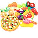 preiswerte Luftballons-Tue so als ob du spielst Lebensmittel Frucht Eltern-Kind-Interaktion Plastikschale Vorschule Alles Jungen Mädchen Spielzeuge Geschenk 24 pcs