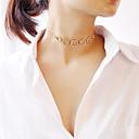 رخيصةأون خواتم-للمرأة قلادات ضيقة - موضة ذهبي, فضي 30 cm قلادة مجوهرات 1PC من أجل حزب, خطوبة, هدية
