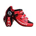 ieftine Machiaj & Îngrijire Unghii-SIDEBIKE Adulți Papuci de Ciclism cu Pedale & Crampoane Pantofi de Mountain Bike Nylon Căptușire cu Perne Ciclism Roșu-aprins Bărbați Pantofi de Ciclism / Microfibră PU sintetică