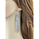 cheap Brooches-Women's Cross Body Drop Earrings - Lucky Tassel, Fashion Gold / Silver For Daily Date