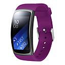 저렴한 Fitbit 밴드 시계-시계 밴드 용 Gear Fit 2 Samsung Galaxy 모던 버클 실리콘 손목 스트랩