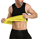 cheap Fitness Accessories-Waist Trainer Corset Vest / Tank Top / Body Shaper With Neoprene No Zipper, Hot Sweat Slimming, Weight Loss, Calories Burned For Exercise & Fitness / Gym / Workout Men's