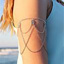 hesapli Küpeler-Püskül Kol Zinciri Yaratıcı İfade, abartma, Moda Kadın's Gümüş Vücut Mücevheri Uyumluluk Karnaval / Tatil