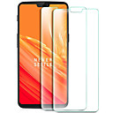 cheap HDMI Cables-Screen Protector for OnePlus OnePlus 6 Tempered Glass 2 pcs Front Screen Protector 9H Hardness / Explosion Proof / Anti-Fingerprint