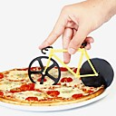 cheap Barware & Openers-1pc Kitchen Tools Stainless Steel + A Grade ABS Home Kitchen Tool Slicer For Pizza