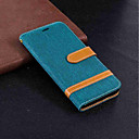 رخيصةأون حافظات / جرابات هواتف جالكسي J-غطاء من أجل Samsung Galaxy J6 / J5 (2017) / J4 محفظة / حامل البطاقات / مع حامل غطاء كامل للجسم لون سادة قاسي منسوجات