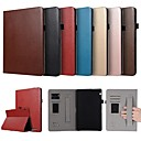 economico Custodie per tablet-Custodia Per Huawei MediaPad T3 10(AGS-W09, AGS-L09, AGS-L03) Porta-carte di credito / Con supporto / A calamita Integrale Tinta unita Resistente pelle sintetica per Huawei MediaPad T3 10(AGS-W09