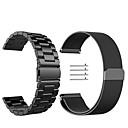 hesapli Kolyeler-Watch Band için Gear S3 Frontier / Gear S3 Classic Samsung Galaxy Milan Döngüsü Paslanmaz Çelik Bilek Askısı