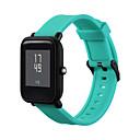 رخيصةأون أساور ساعات هواتف Xiaomi-حزام إلى Huami Amazfit Bip Younth Watch Xiaomi بكلة عصرية سيليكون شريط المعصم