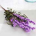 Χαμηλού Κόστους Ήχος και βίντεο-Ψεύτικα λουλούδια 1 Κλαδί Κλασσικό μινιμαλιστικό στυλ Ανοικτό μπλε Λουλούδι Δαπέδου
