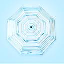 billige Regntøy-polyester / Rustfritt stål Alle Nytt Design / Kreativ Sammenfoldet paraply
