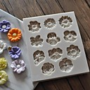 povoljno Nakit za tijelo-Bakeware alati Silikonski gel Uradi sam Uporaba / Za posuđe za kuhanje Kvadrat Torte za kalupe 1pc