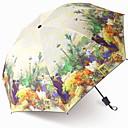 billige Sminke og neglepleie-polyester / Rustfritt stål Dame / Alle Nytt Design / Kreativ Sammenfoldet paraply