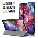abordables Etuis / Coques pour Lenovo-Coque Pour Lenovo Tab 4 10 Plus / Tab 4 10 Avec Support / Magnétique Coque Intégrale Peinture à l'Huile Dur faux cuir pour Lenovo Tab 4 10 Plus / Lenovo Tab 4 10