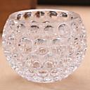 cheap Candles & Candleholders-Modern / Contemporary Glasses Candle Holders Candelabra 1pc, Candle / Candle Holder